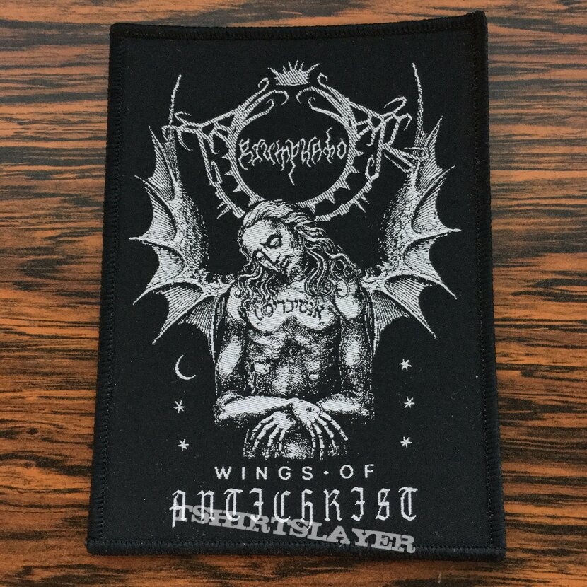 Triumphator woven patch