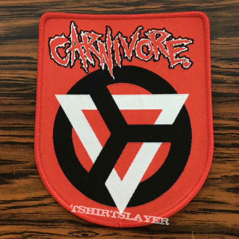 Carnivore - Woven Patch