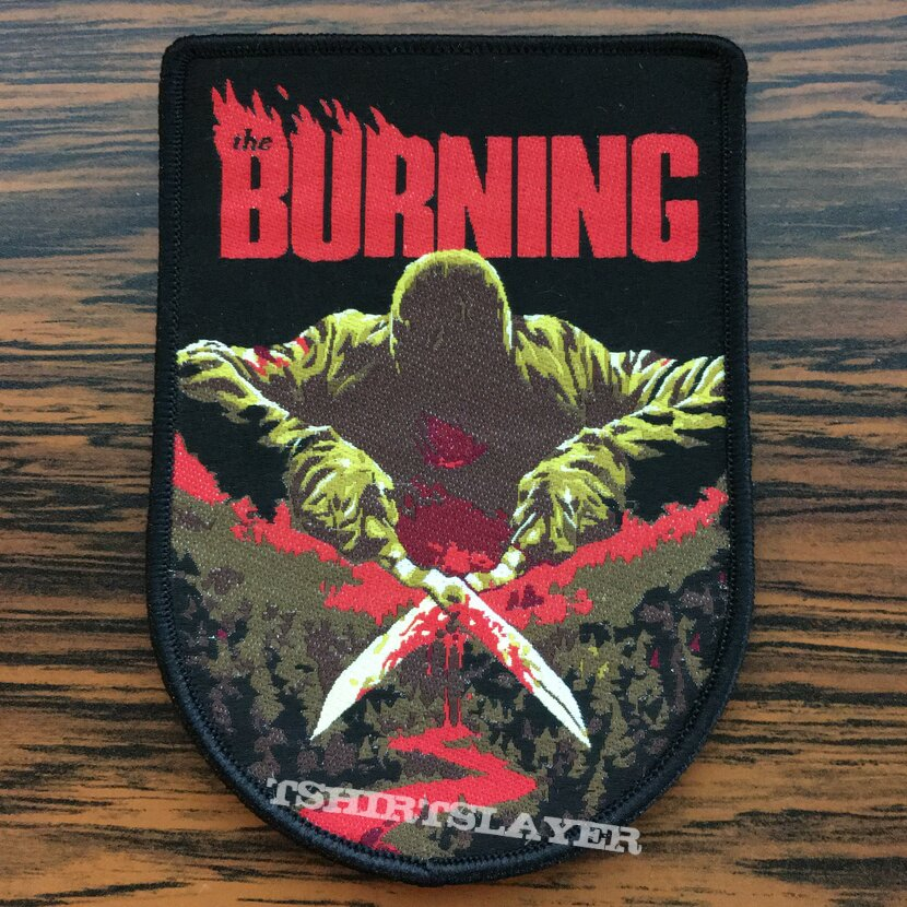 The Burning Woven Patch