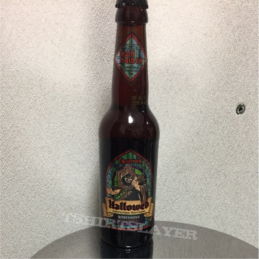 Iron Maiden hallowed beer