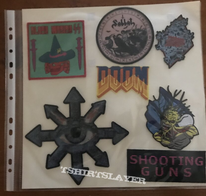 Page of patches