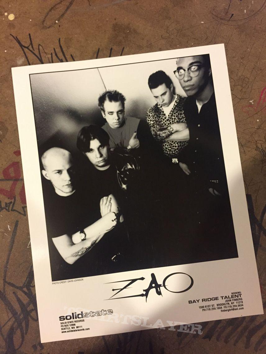 Zao promo shot