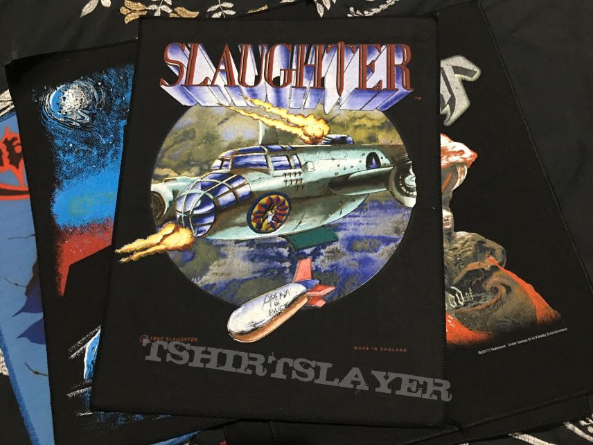 Slaughter Back patch  1990