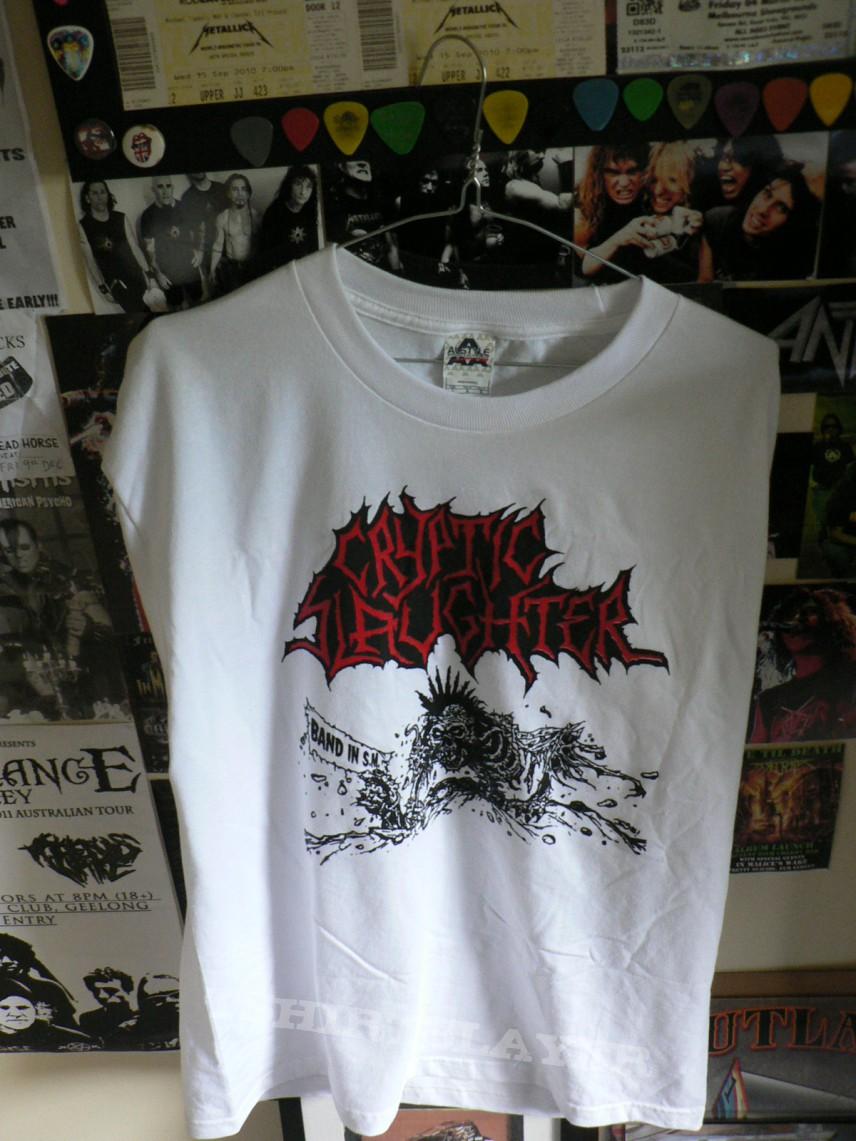 TShirt or Longsleeve - Cryptic Slaughter shirt