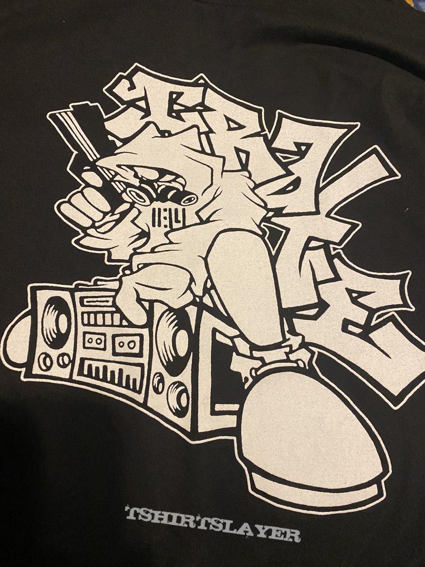 Irate boombox shirt