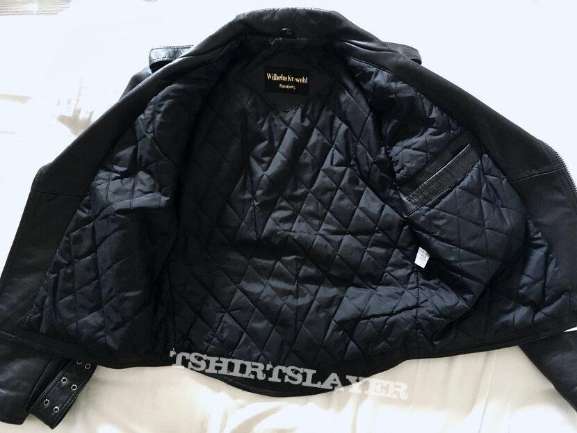 Wilhelm Krawehl leather jacket, size 48