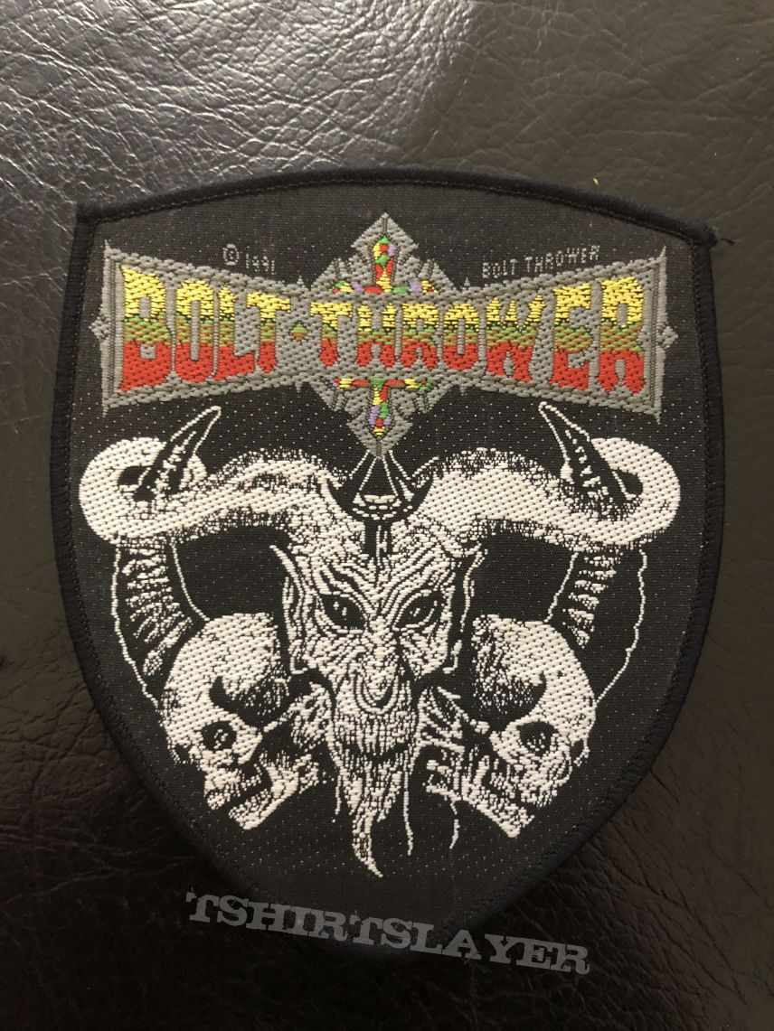 Bolt Thrower Cenotaph Shield Original