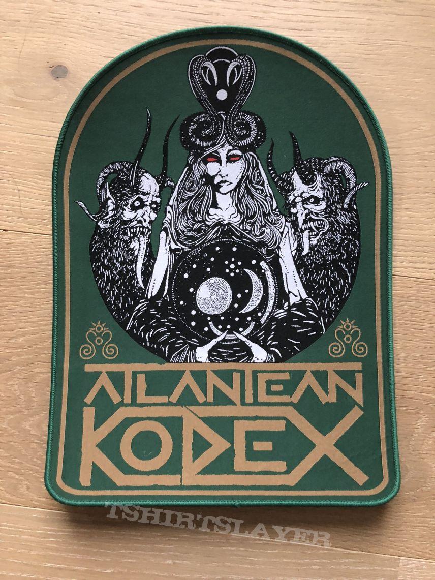 Atlantean Kodex Backpatch Green border