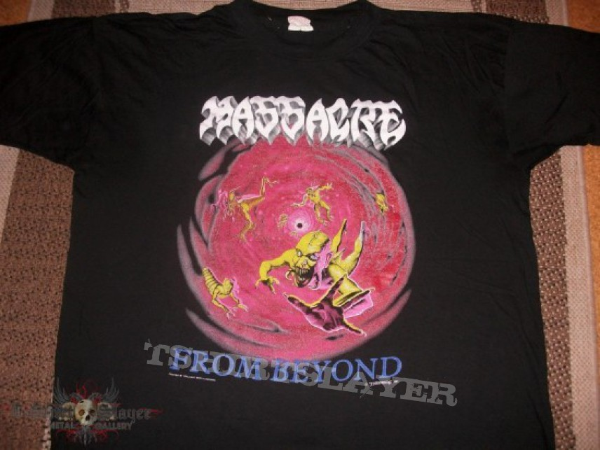 Massacre Euro Tour Shirt