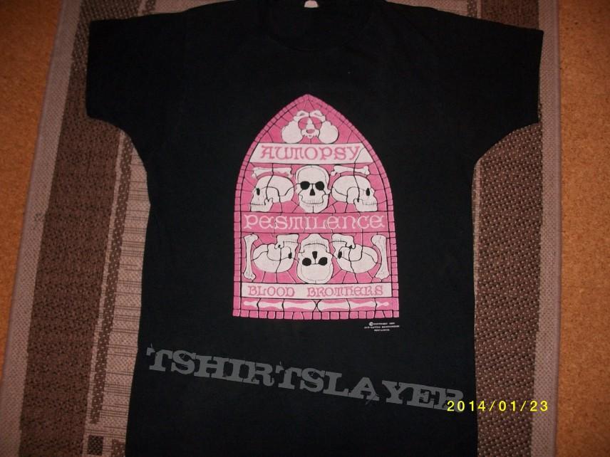 Pestilence/Autopsy tour shirt