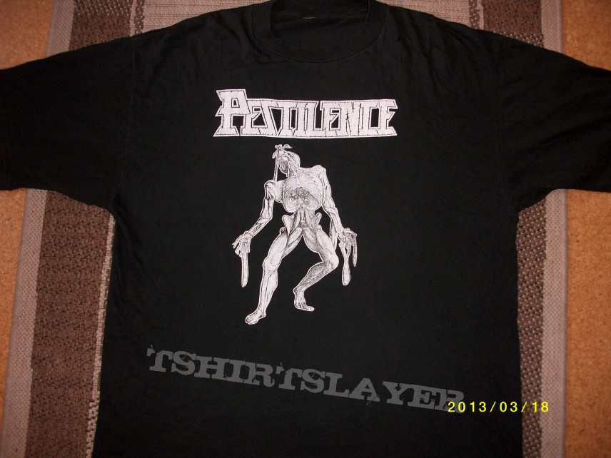Pestilence shirt , original