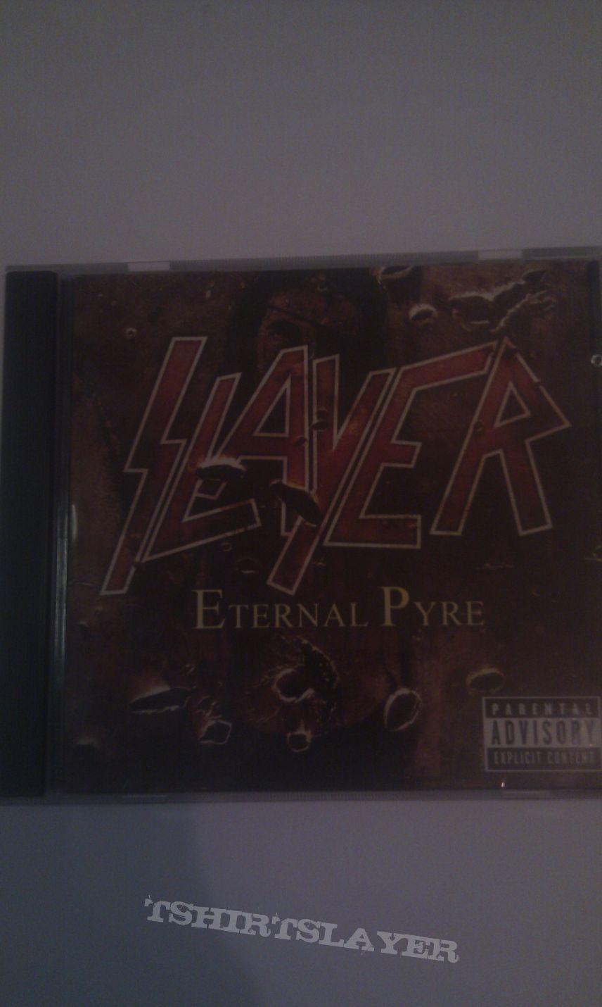 Slayer - Eternal pyre (European release)