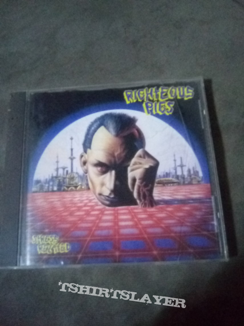 Righteous pigs - stress related CD
