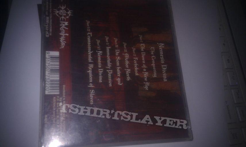 Satyricon - Nemesis devina CD