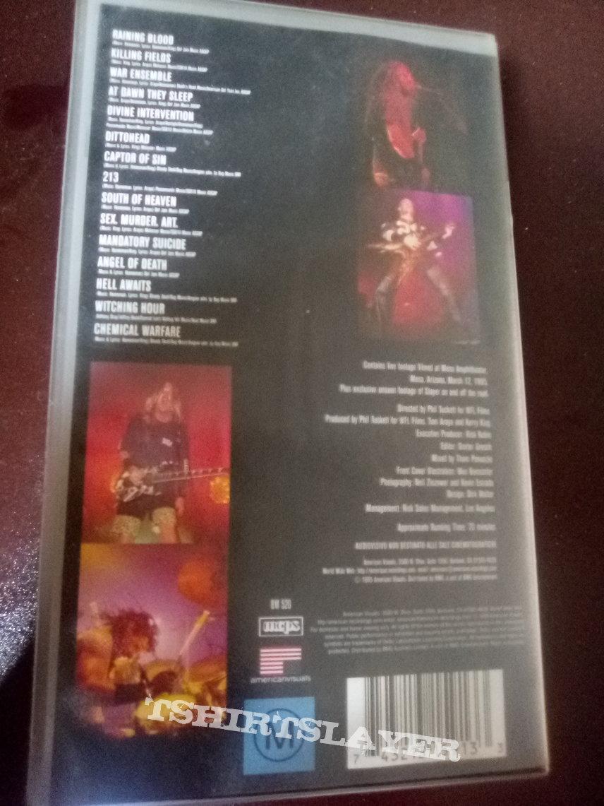 Slayer - Live intrusion VHS
