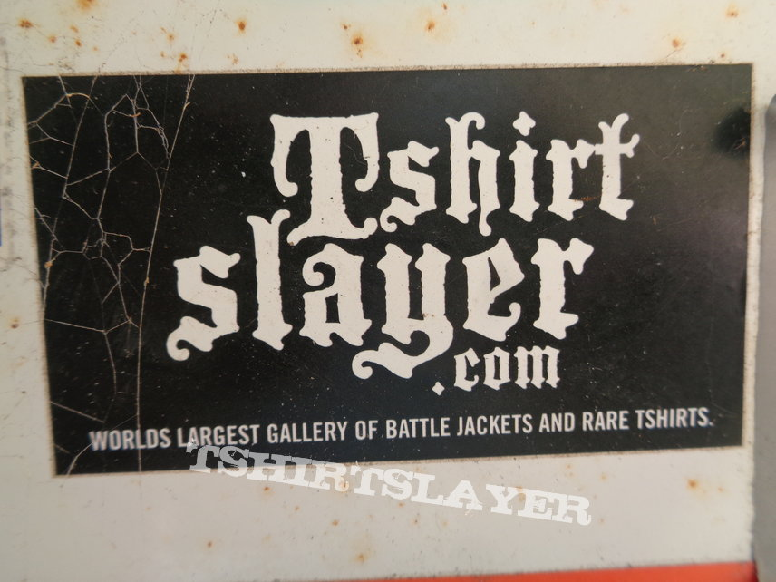 Tshirtslayer - the first ever TSS sticker