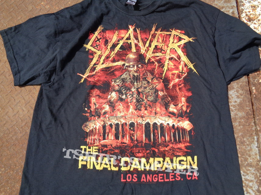 Slayer - Final show at the forum