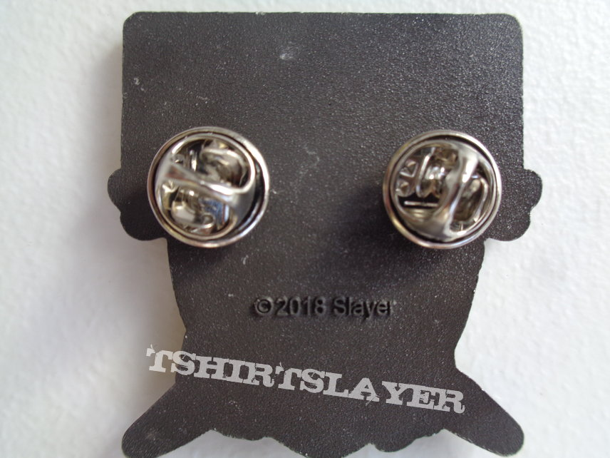 Slayer - slayer nation,  metal pin