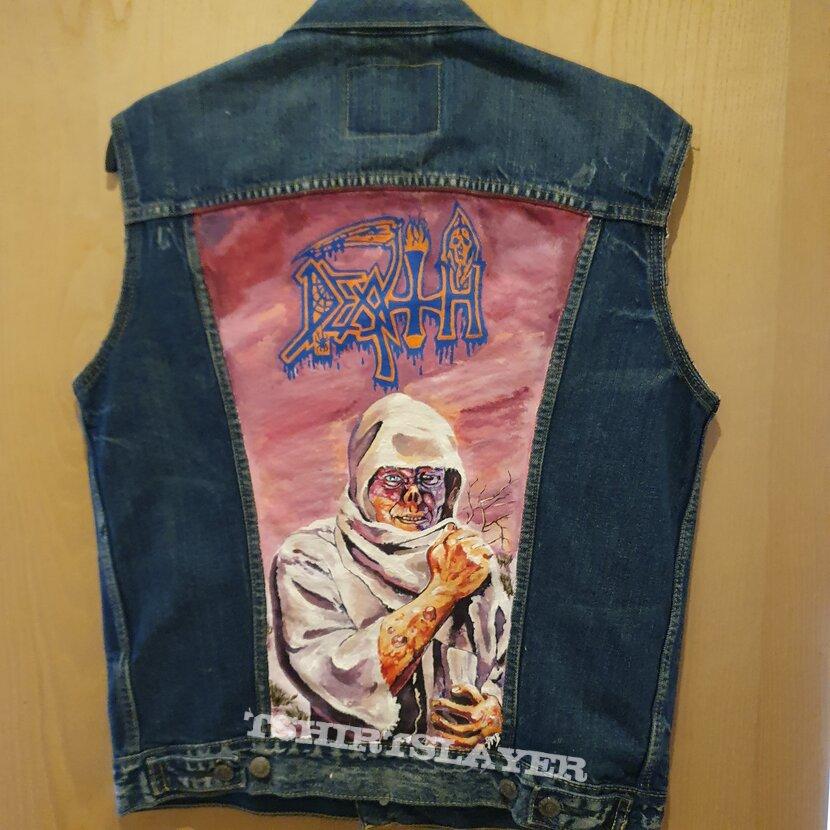 Hand Painted Leprosy Jacket