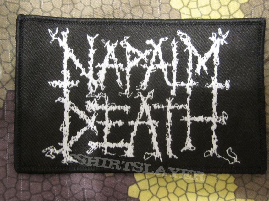 Napalm Death - logo patch - got from tour merch table