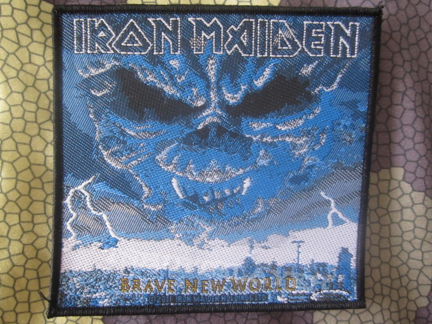 Iron Maiden - A Brave new world - 2011 Patch