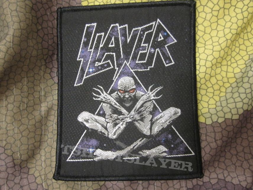Slayer - bootleg patch