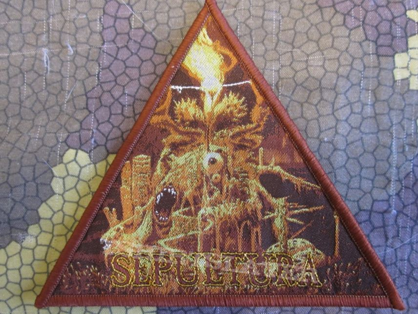 Sepultura - Arise bootleg patch