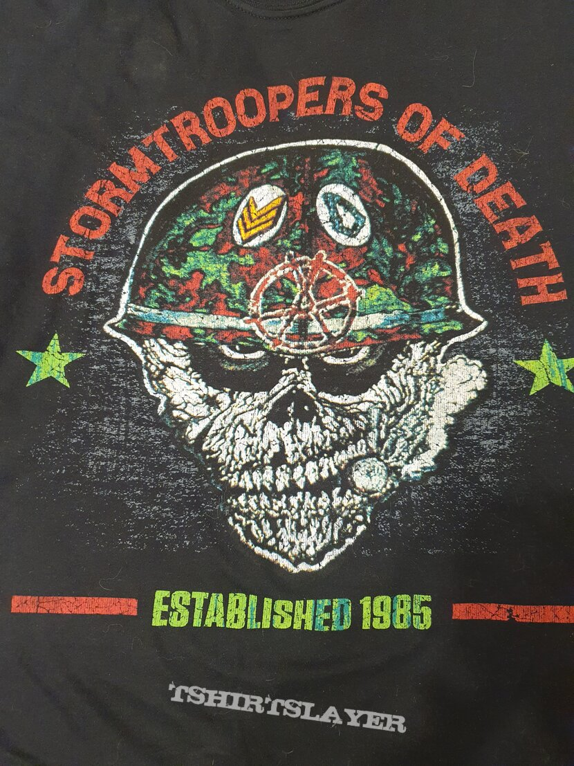 Storm Troopers Of Death - Official tshirt - Sargent D
