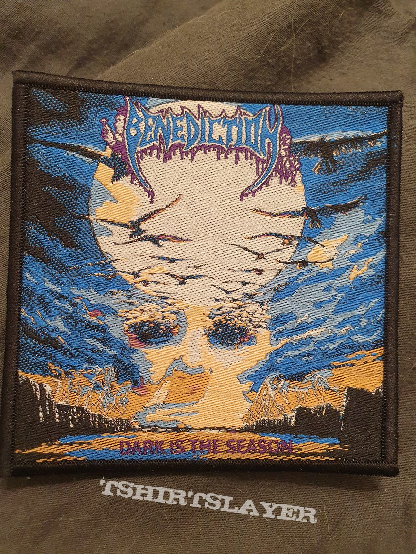 Benediction - Dark Is the Season - patch