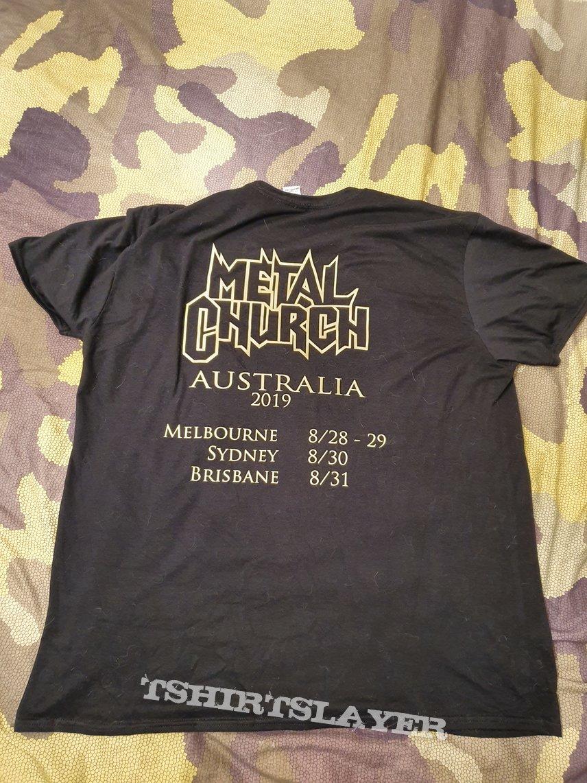 Metal Church - First Australian show - Tour Shirt 2019