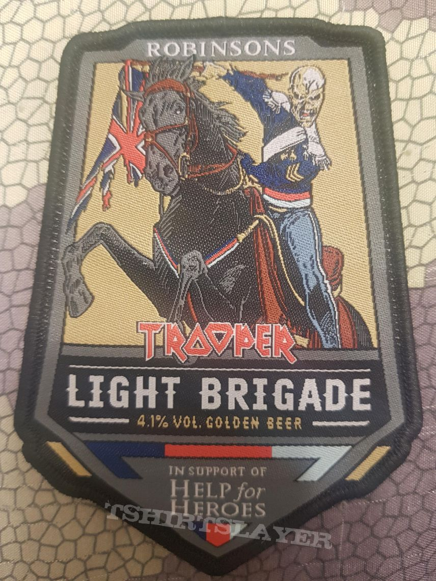 Iron Maiden - Robinsons Trooper Light Brigade - Beer
