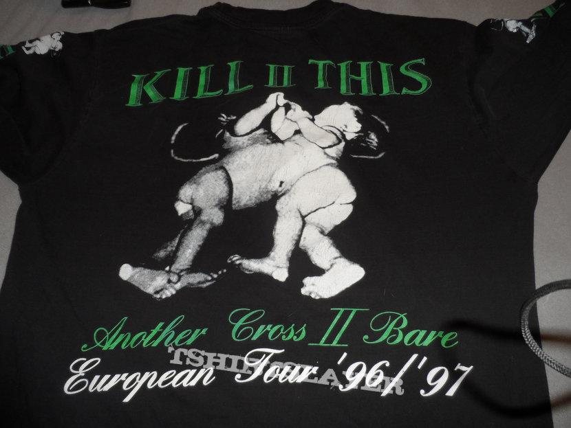 kill II this  1996/97 europe tour longsleeve