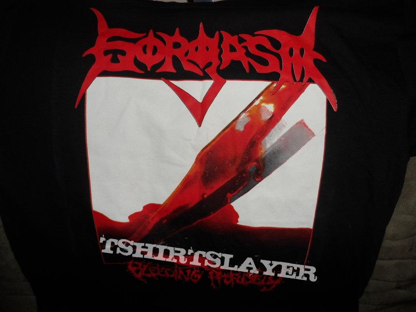 Gorgasm bleeding profusely