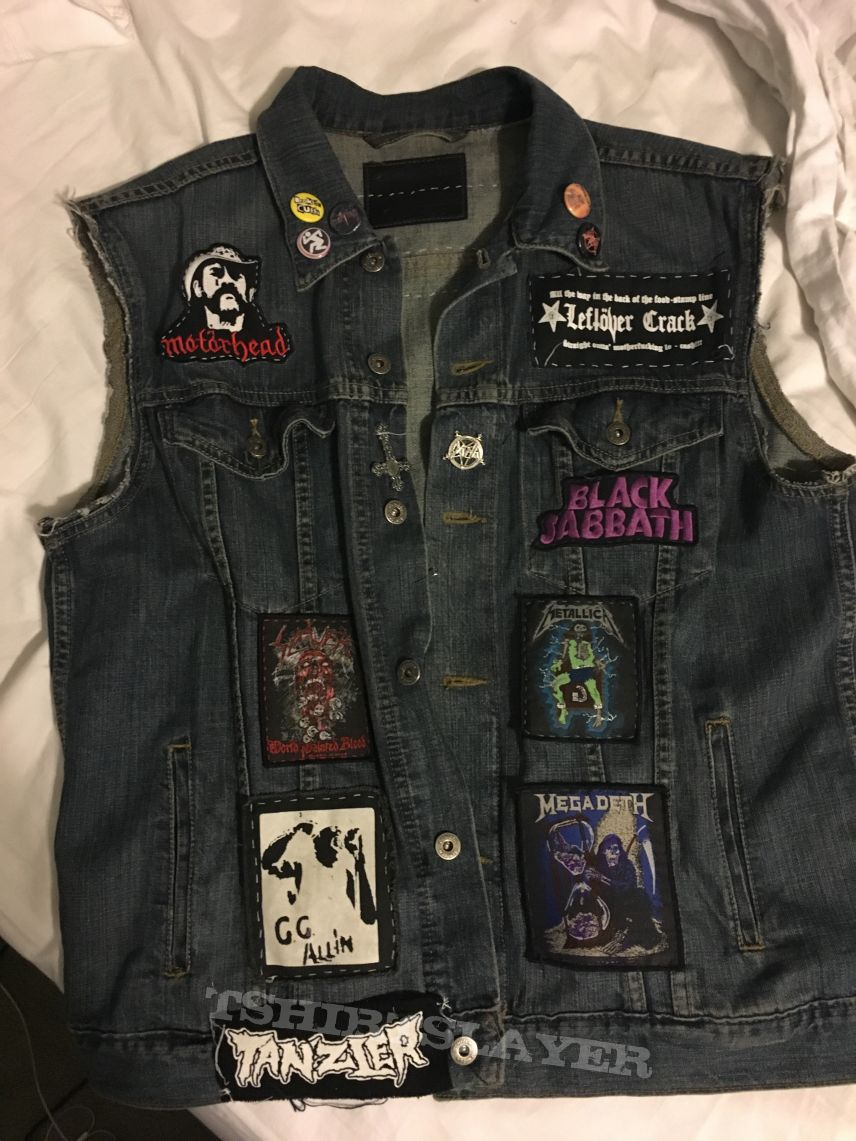 Battle vest (metal and punk patches)
