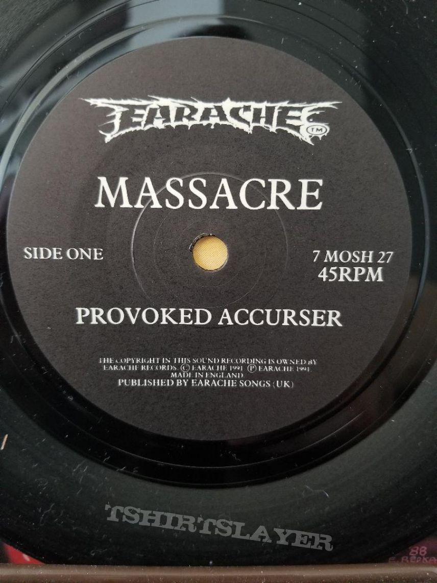 Massacre ' From Beyond ' Original Vinyl L.P. + Promotional Ads
