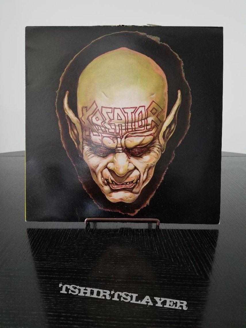 Kreator ' Behind The Mirror /Gangland ' Original Vinyl EP + Poster