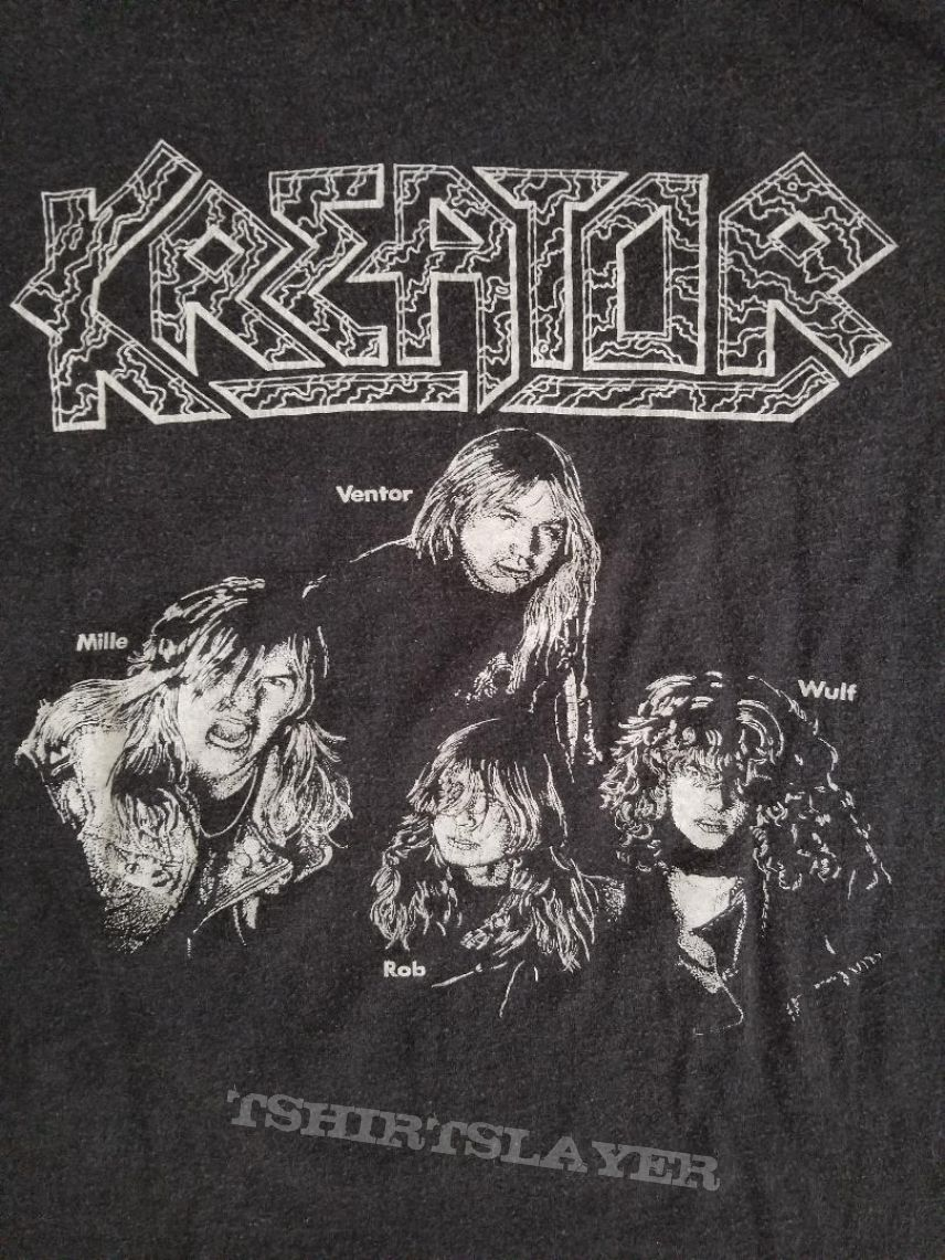 Kreator ' Pleasure To Kill ' Collection