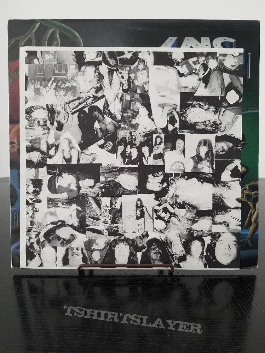 I.N.C. ( Indestructible Noise Command ) ' The Visitor ' Original Vinyl LP + Promotional Poster