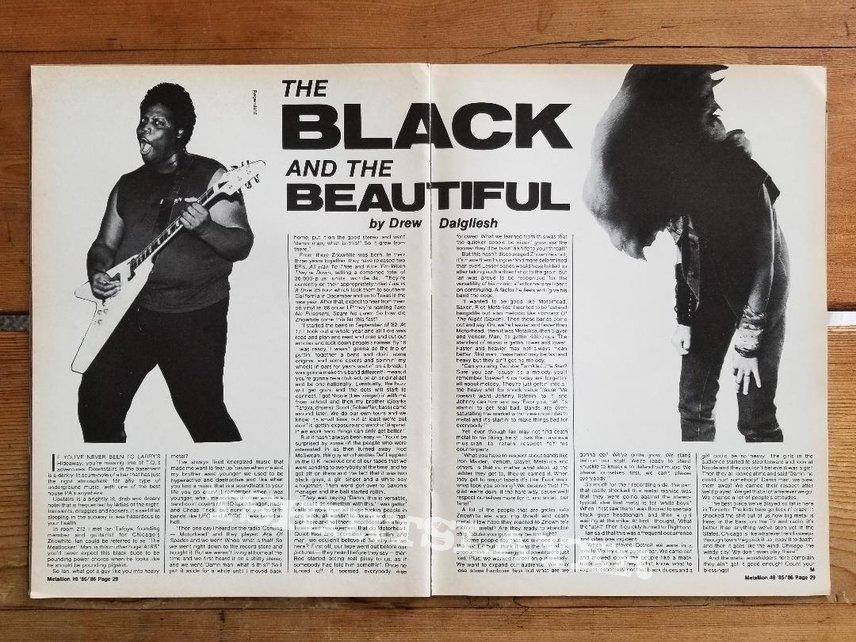 Znowhite ' Act Of God ' Original Vinyl L.P. + Promotional Poster + Ads