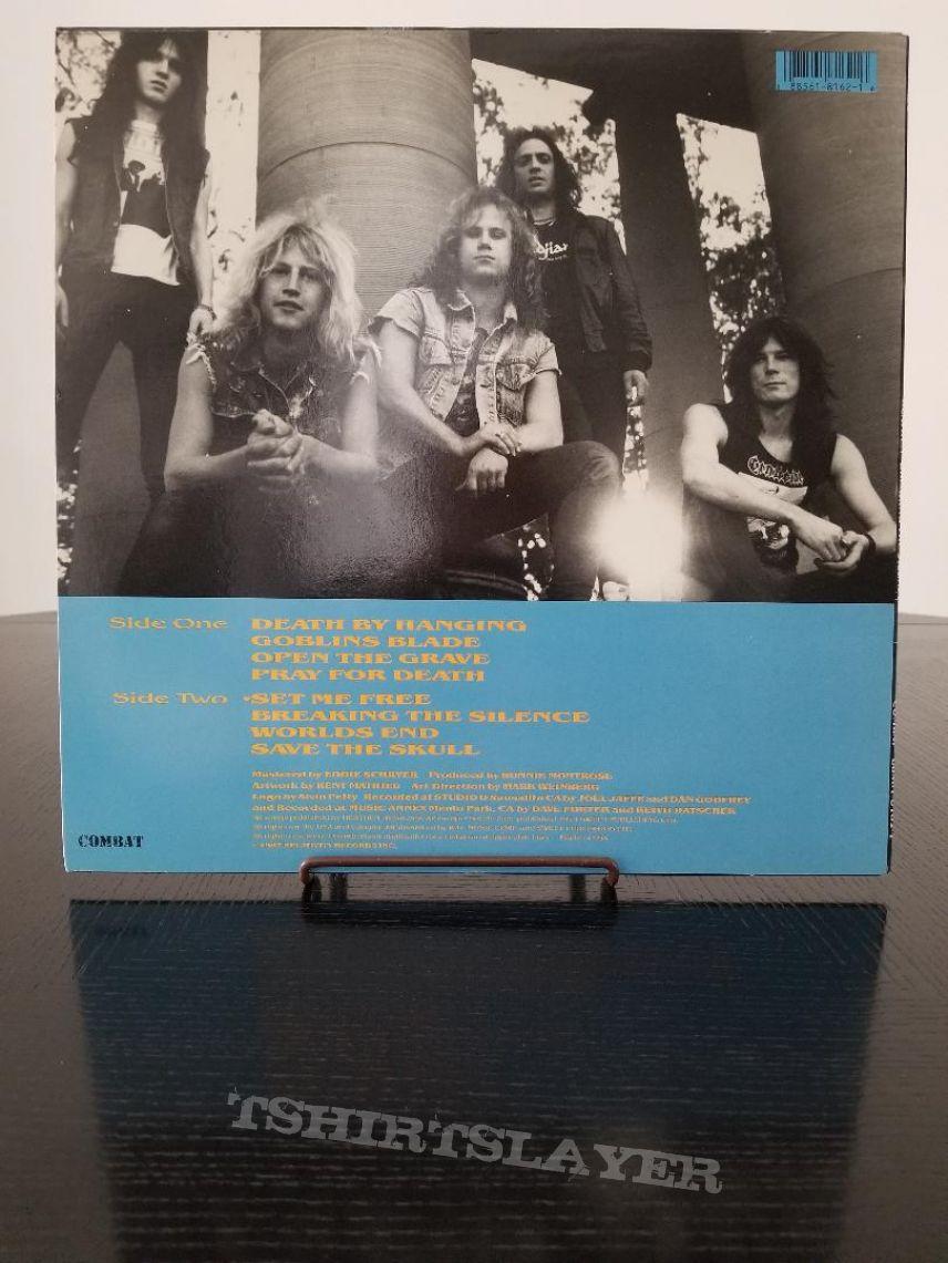 Heathen ' Breaking The Silence ' Original Vinyl LP + Promotional Poster