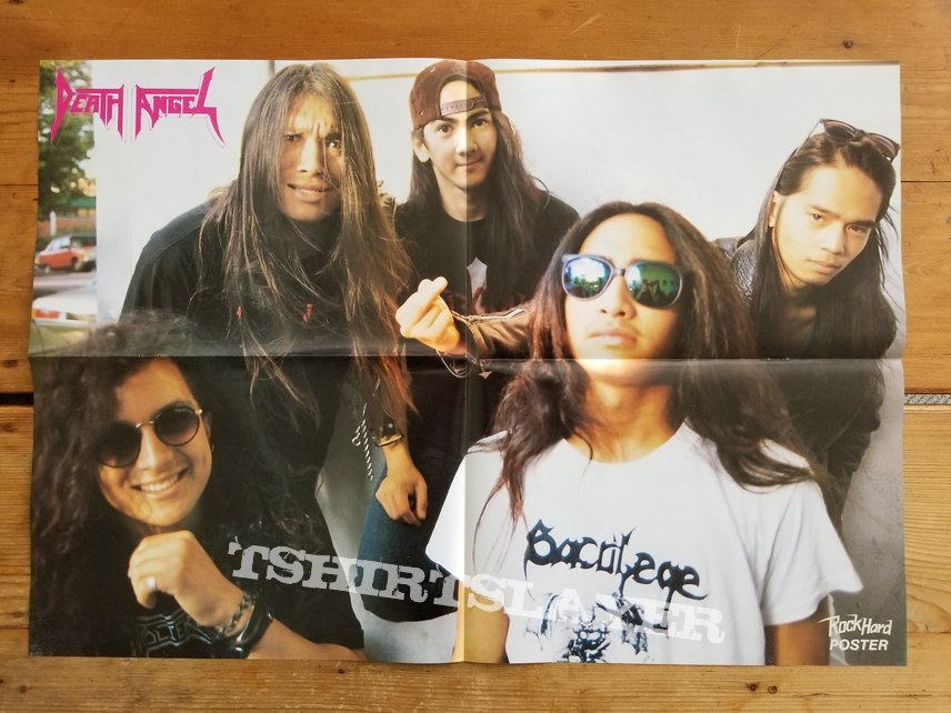 Death Angel ' The Ultra-Violence ' Original Vinyl LP + Promotional Poster + Ads