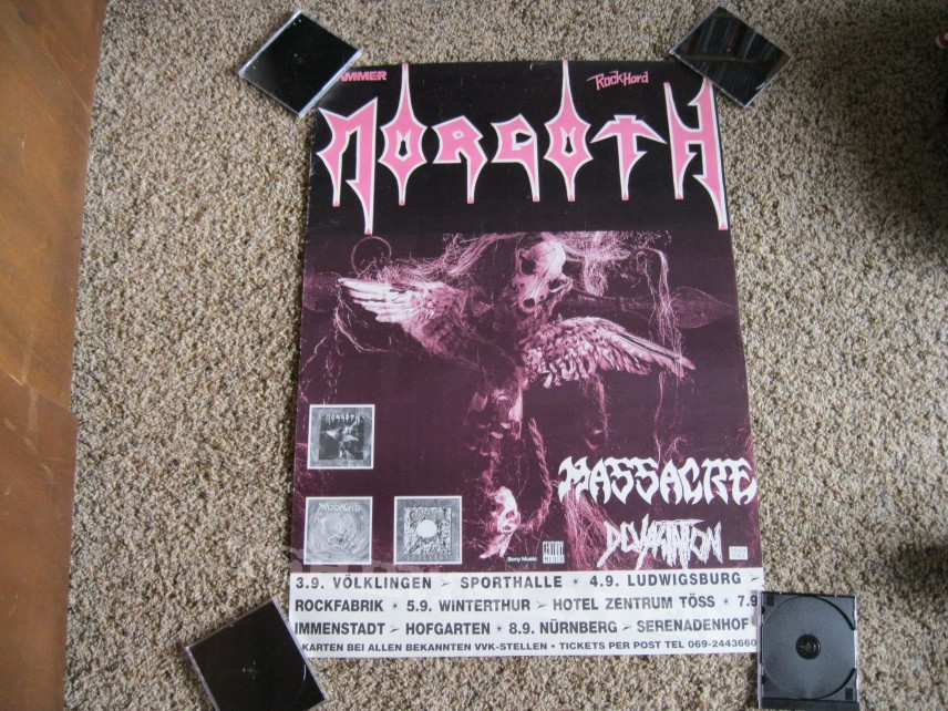 Other Collectable - Morgoth Tour Poster