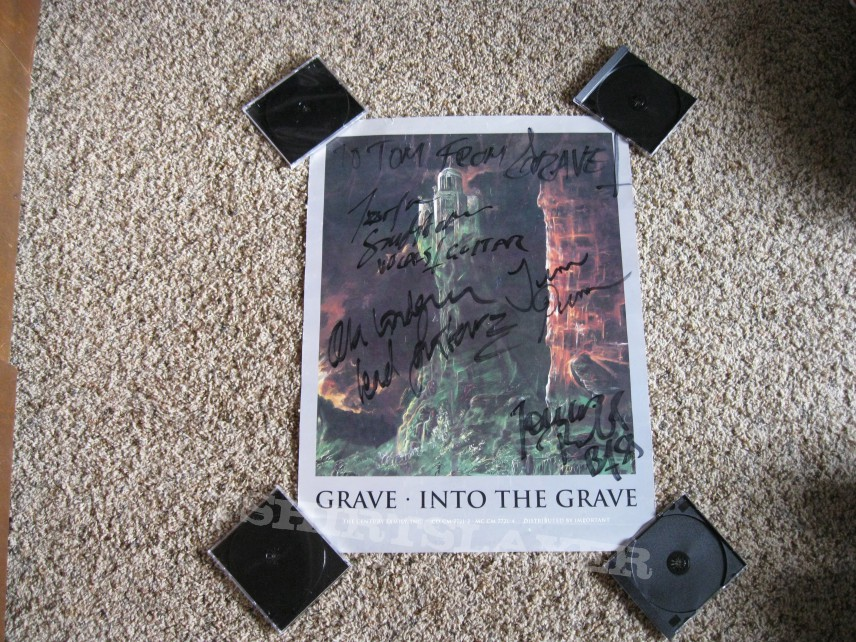 Other Collectable - Grave Into The Grave