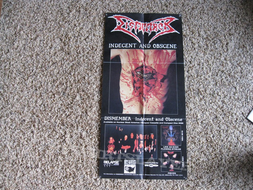 Other Collectable - Dismember Indecent and Obscene