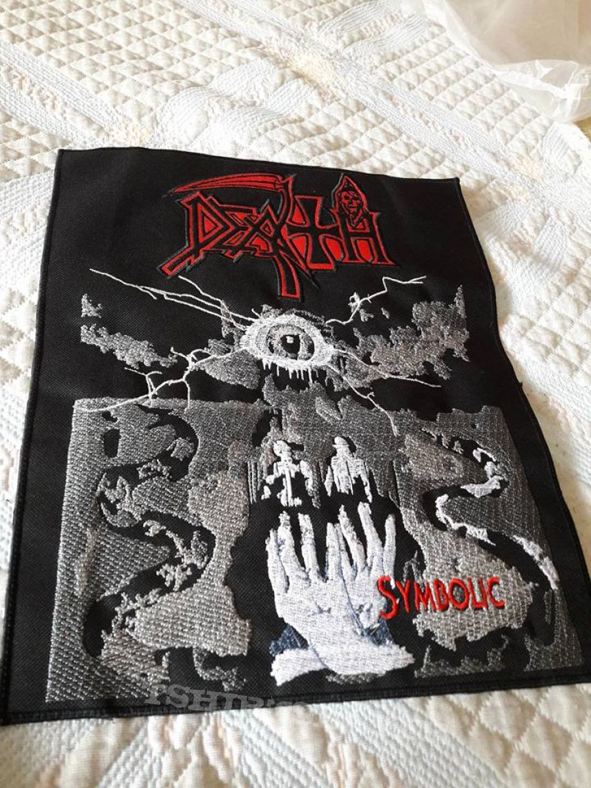 Death Symbolic Back Patch Tshirtslayer Tshirt And Battlejacket Gallery