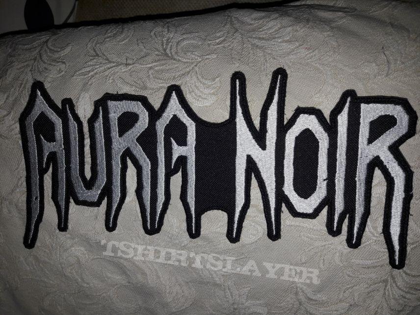 Aura Noir back Shaped logo patch
