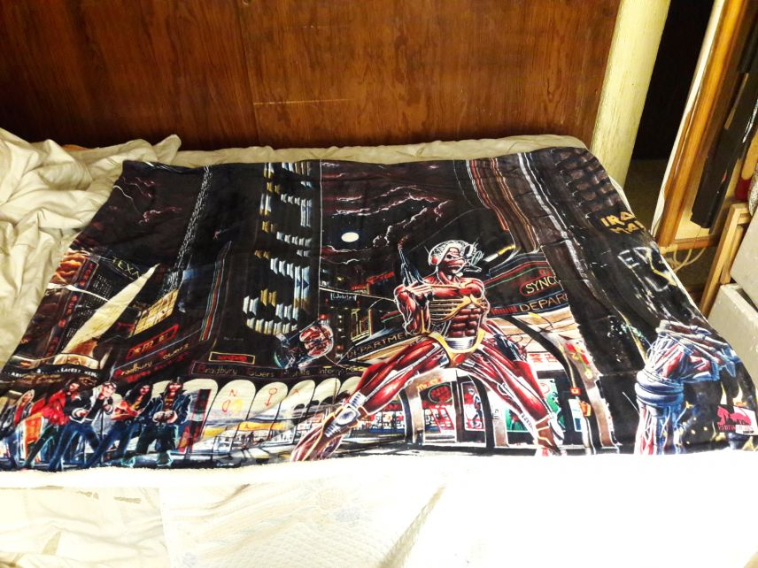Iron Maiden somewhere in time blanket