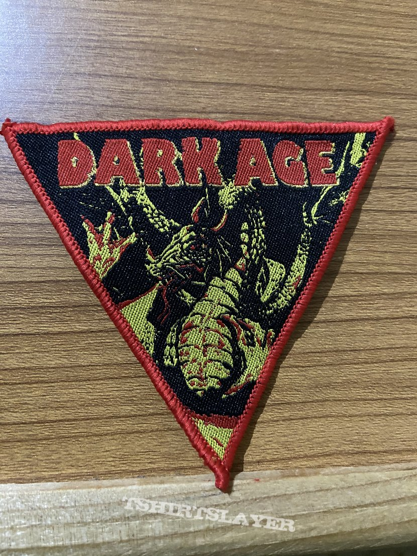 Dark age woven patch