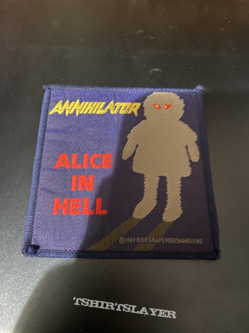 Annnihilator Alice in hell