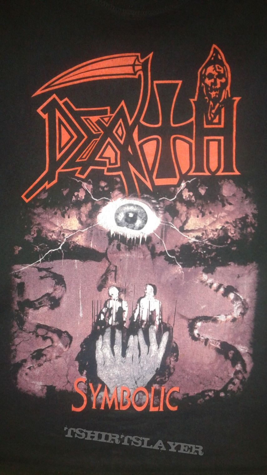 Death Symbolic Shirt Tshirtslayer Tshirt And Battlejacket Gallery